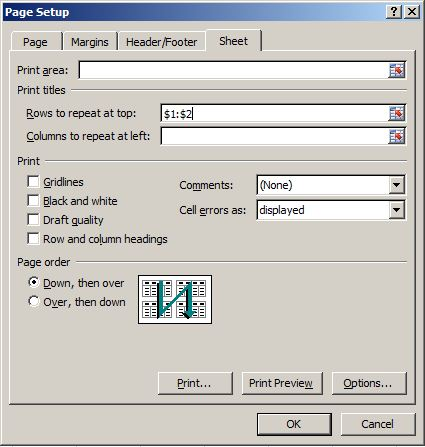 Tip Setting Page Layout di Ms. Excel 5