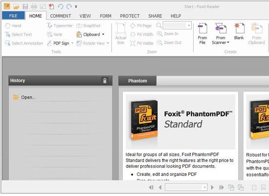 Foxit Reader, Pembaca File pdf Yang Keren