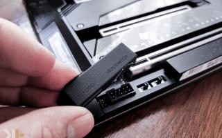 Gigabyte Z490 AORUS Xtreme Motherboard Review Power F AUDIO BIOS SWITCH KANTO TECH