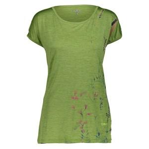 Camiseta Mujer CMP Verde | Kantxa Kirol Moda
