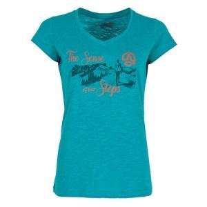 Camiseta Mujer Ternua Kaoko C Azul | Kantxa Kirol Moda