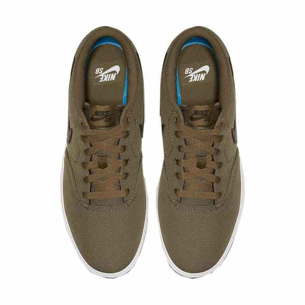 Zapatilla Hombre Nike SB Check Solarsoft Canvas Kaky | Kantxa Kirol Moda