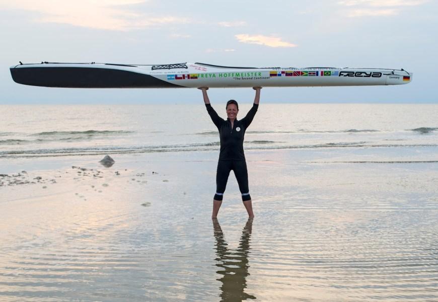 Paddlerin Frey Hoffmeister startet Nordamerika-Umrundung