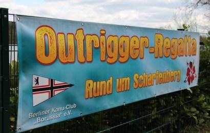 """Die Outrigger-Regatta """"Rund um Scharfenberg"""""""