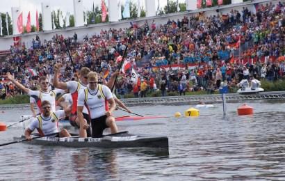 Das ist die Kanu-Rennsport Weltcup-Nationalmannschaft für Duisburg
