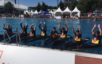 Kanu-Polo Doppelgold bei den World Games