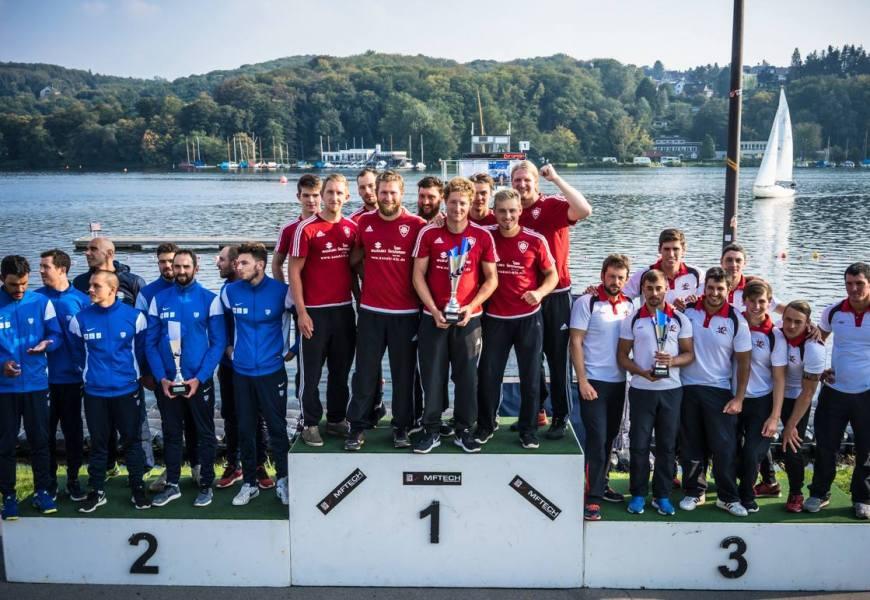 KRM Essen gewinnt die Kanu-Polo Champions League 2017