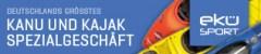 Das Logo vom Kajak Shop EKÜ-SPORT.