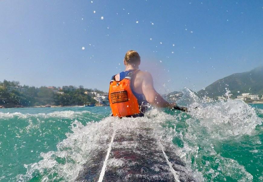 Die Deutsche im Kanu Ocean Sport – Das Hawaiian Sports Festival