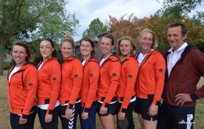 Saisoneröffnung der Damen Kanu-Polo-Nationalmannschaft