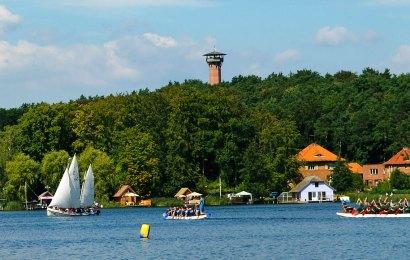 Kanutour durch die Seen bei Krakow am See