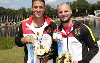 Weltcupwochenende in Duisburg: 5 x Gold, 1x Silber und 5 x Bronze