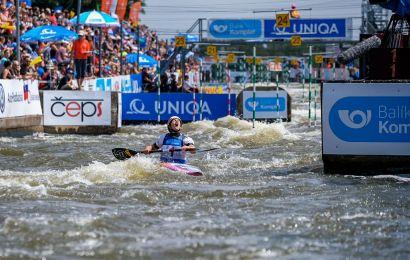 Ricarda Funk ist Europameisterin im Kanu-Slalom 2018