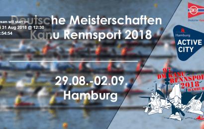 Der Livestream für die Kanu-Rennsport DM in Hamburg ist online
