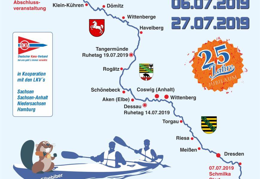 Die 25. Internationale Elbefahrt ist ausgebucht