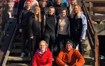 Kanu-Polo Trainingslager Damen und U21-Damen