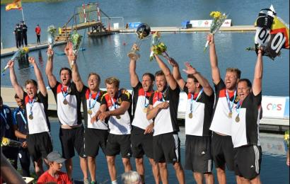 Kanu-Polo Herren-Nationalmannschaft gewinnt World Paddle Award