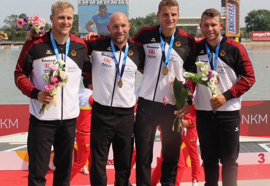 Die Termine für die Kanu-Rennsport Nationalmannschaft in der olmypischen Saison