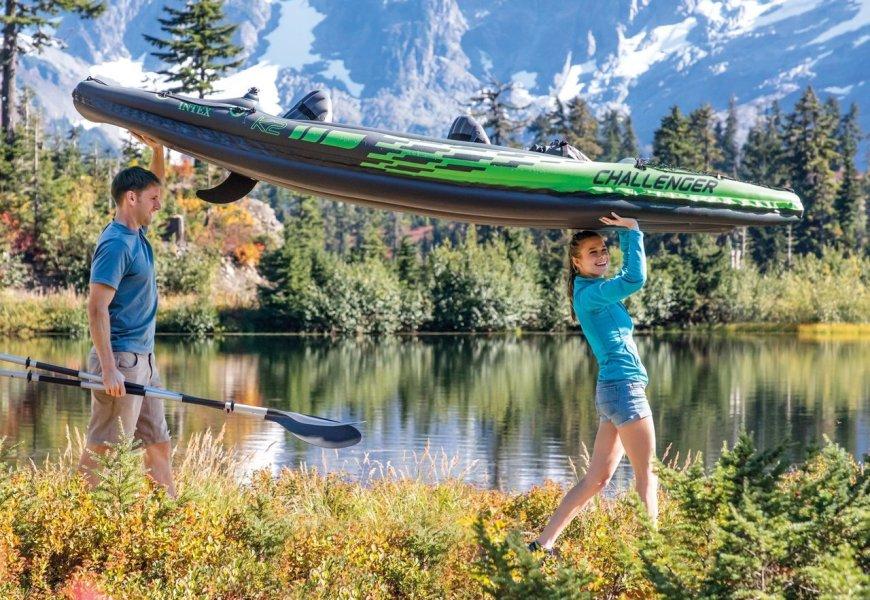 Intex Challenger K2: Vorstellung des Schlauchboots