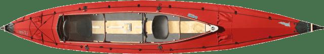 Das Klepper Faltboot ist ein Kajak zum zusammenstecken.