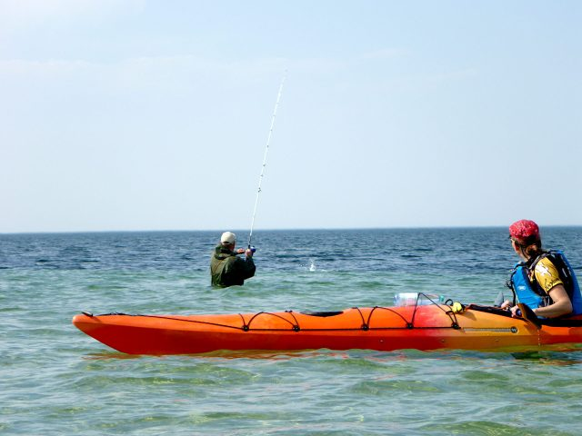 Seekajak meets Fisherman