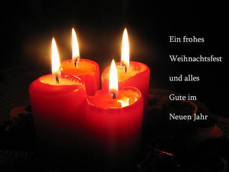 Read more about the article Frohe Weihnachten und einen guten Rutsch