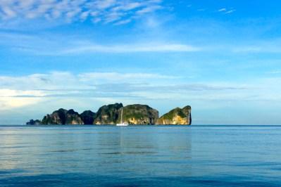 Diving at Phi Phi Islands Thailand