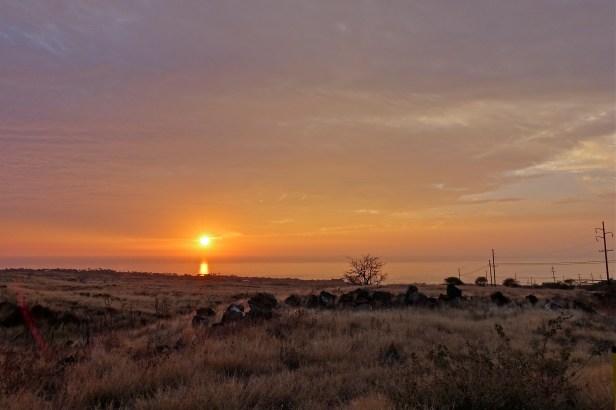 Sunset at Kohala Coast