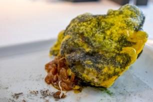 Cromlech manioc and huitlacoche Arzak