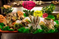 Raohe Street Night Market - Fresh seafood