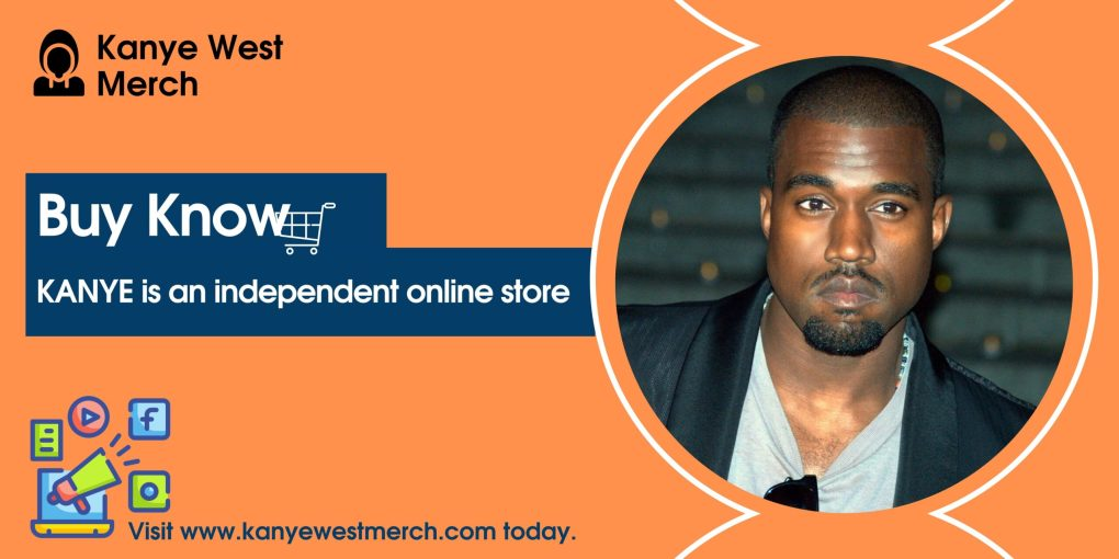 Kanye West merch banner