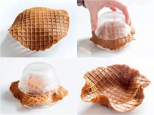 How to make ice cream cone