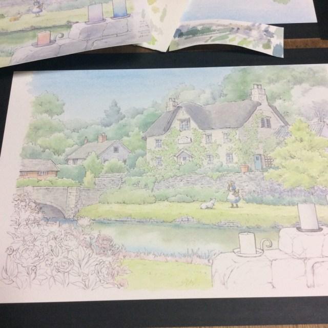 水彩風景画の描き方