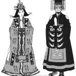 民族衣装 イラスト