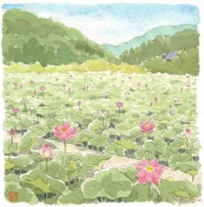 日本 風景 イラスト