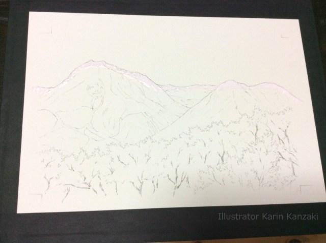 水彩画描き方01