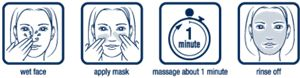 Biore One Min Mask Instructions