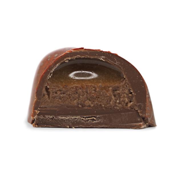 pacane caramel chocolat artisanal kao chocolat c