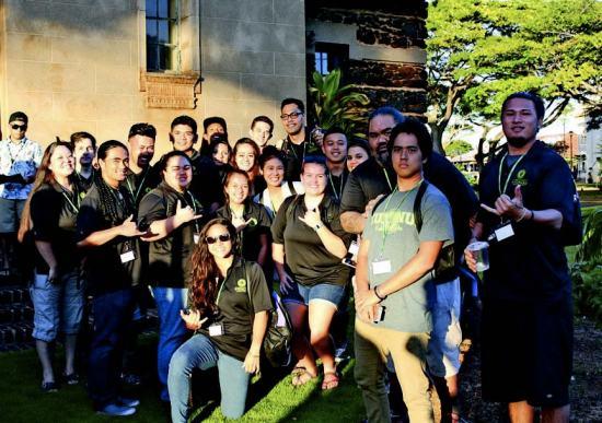 ASUH-WCC members and staff volunteers gathered at the Ho'opili Hou conference on Kaua'i – Andrew Simeona