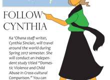 Follow Cynthia around the world