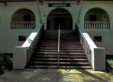The basement of Hale Alaka'i was once a morgue -Hannah Bailey