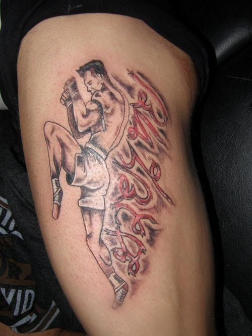 tattoo tatouage thai muay thai
