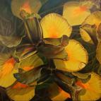 Japanese Irises, 30x30