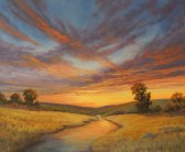 Prairie Sunset, 20x24