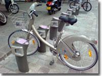 自転車のレンタル!