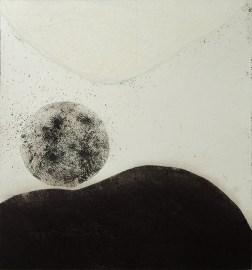 Flowing-2WHBC Etching・Drypoint・ Aquatint・BFK Rives・Gampi-Paper(Mino) エッチング・ドライポイント・アクアチント・BFK紙・雁皮刷り・美濃和紙 image size H30cmxW27.4cm ed.12 2017