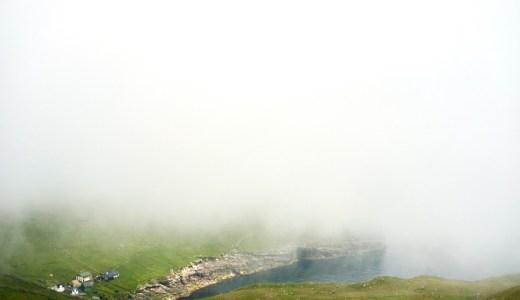 フェロー諸島の気候の中でも霧は様々な姿があり、37の名前を持つ