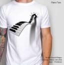 Kaos Tuts Piano White