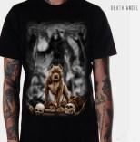 Kaos 3D Death Angel, Kaos Pitbull 3 Dimensi, Gambar Anjing Pitbull