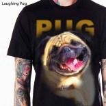 kaos PUG lucu, kaos gambar PUG, klub pecinta PUG, Puppy, Bulldog lucu, gambar anak anjing